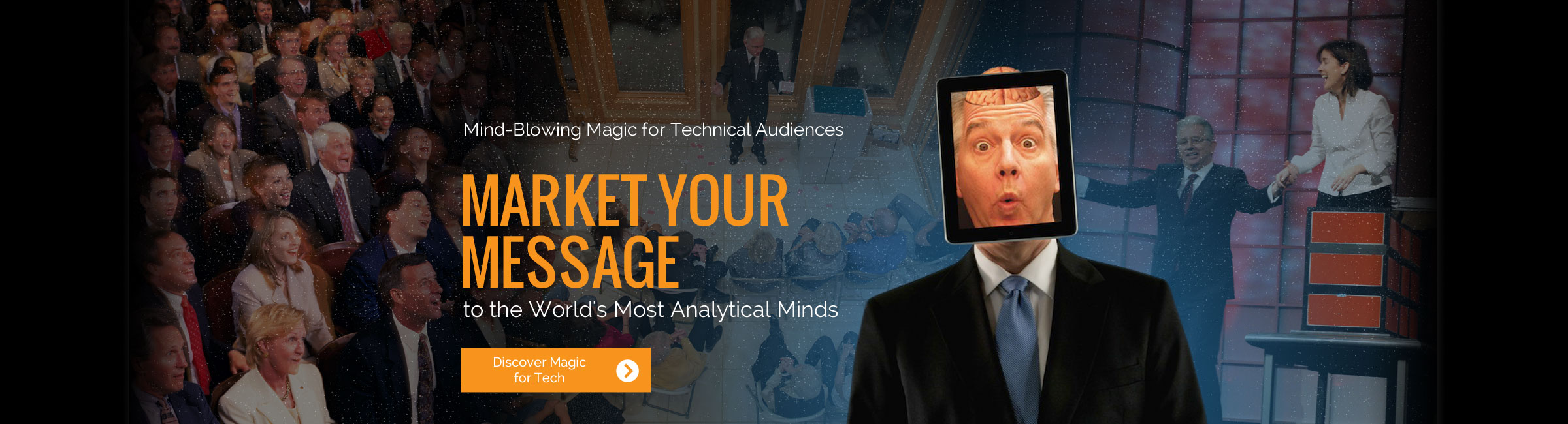 Market your message to the World's Most Analytical Minds