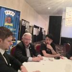 Magicians and Paul Gertner performing card tricks at FFFF Convention 2017