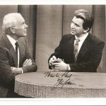 Johnny Carson and Paul Gertner
